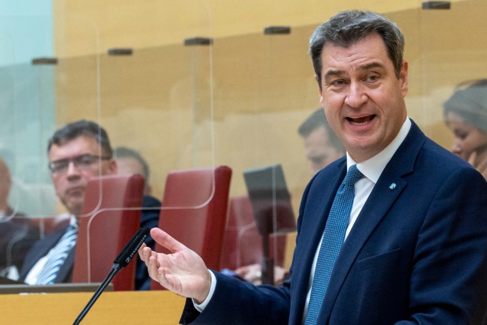 Lockdown-Beschluss nur noch Formsache: Markus Söder wirbt für strengen Corona-Kurs