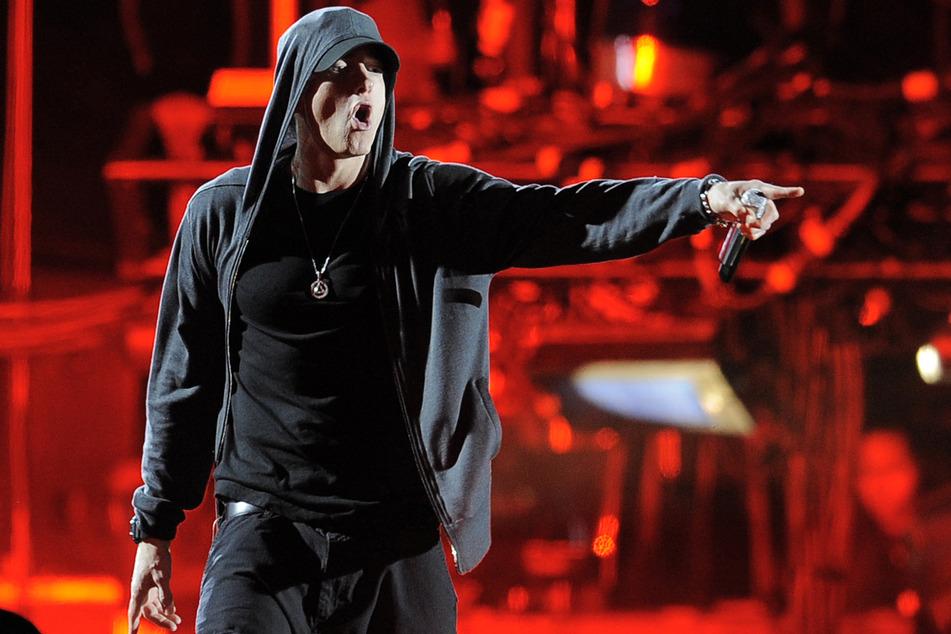 Eine Legende im Rap-Game: US-Rapper Eminem (Foto: Chris Pizzello/AP/dpa)