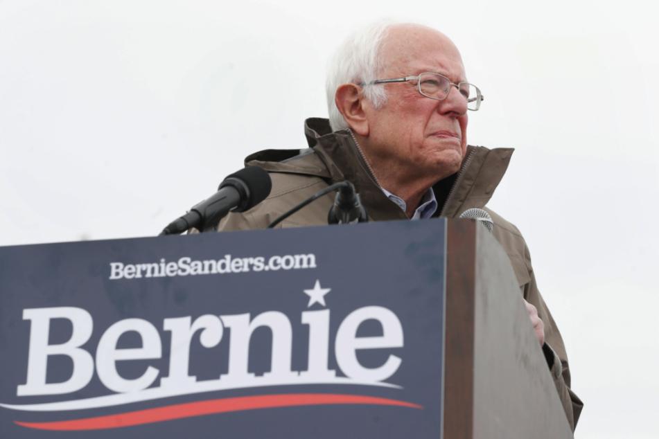 Sanders schmeißt hin.