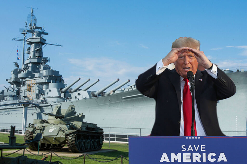Donald Trump banned from holding Fourth of July rally at Battleship Park