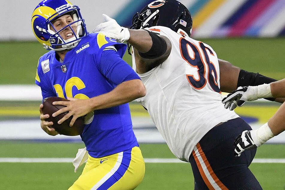 Jarod Goff struggled in the heavy defeat at the Miami Dolphins.