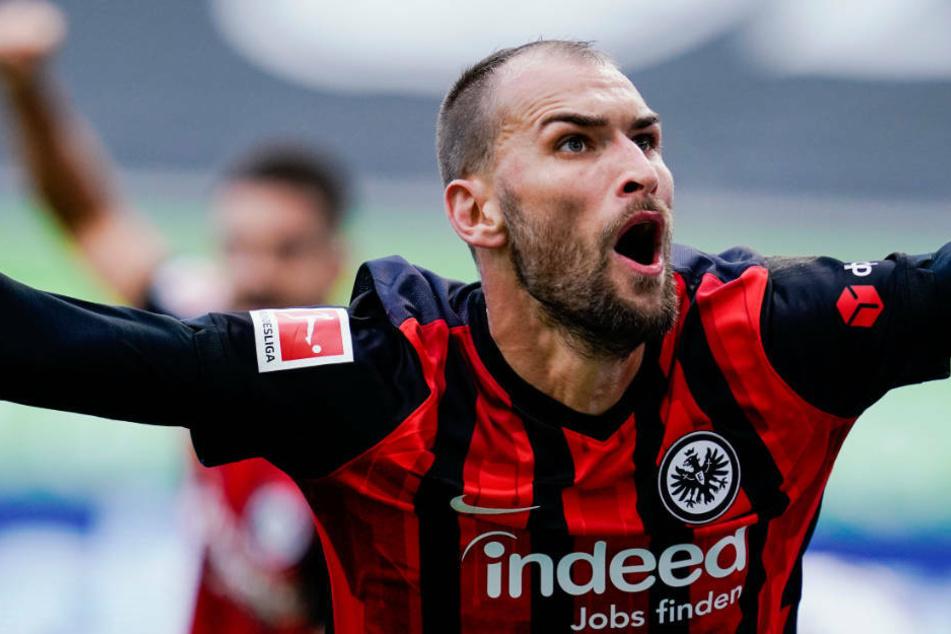 Ein Tor gemacht, eines vorbereitet: Bas Dost war der Matchwinner in einem starken Spiel von Eintracht Frankfurt gegen die TSG Hoffenheim.