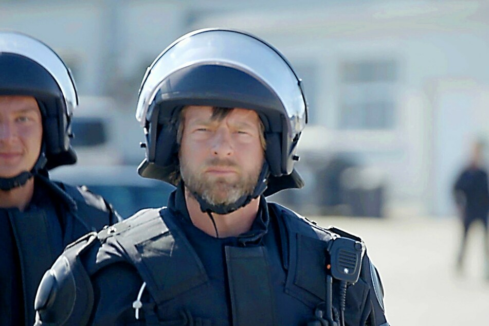 Henning Baum (48) schaut hinter die Kulissen der Polizei.