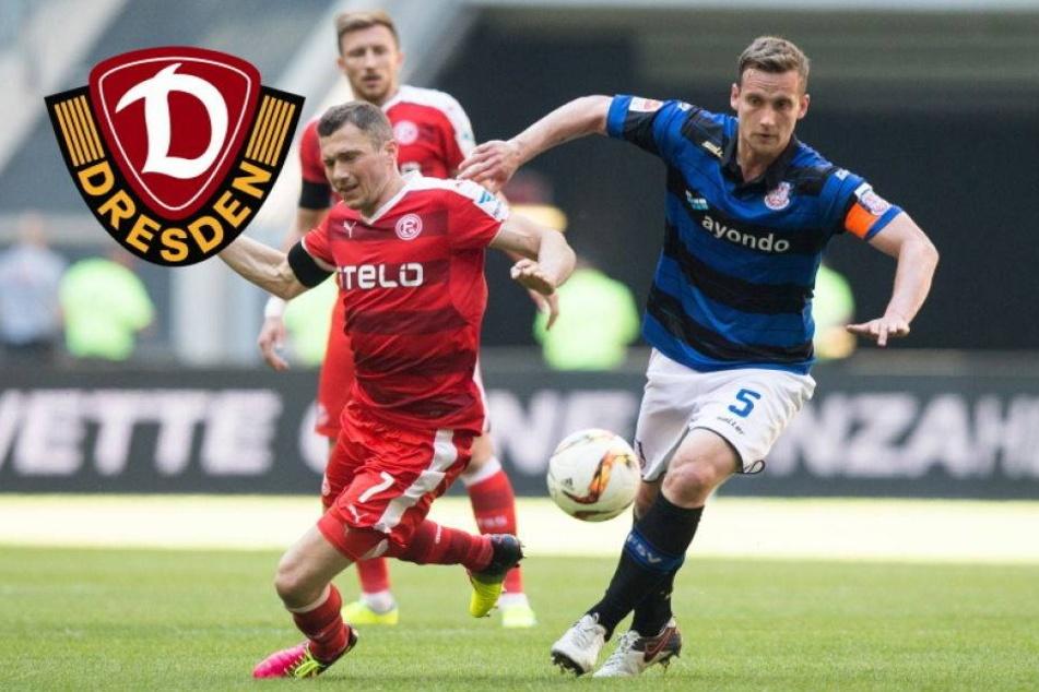 Dynamo an Frankfurter Kapitän Manuel Konrad dran