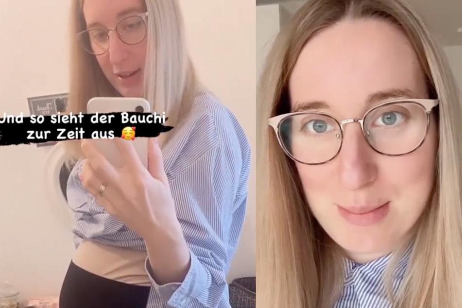 """Kurz vor Geburt: """"Hochzeit auf den ersten Blick""""-Melissa verblüfft mit Babybauch"""