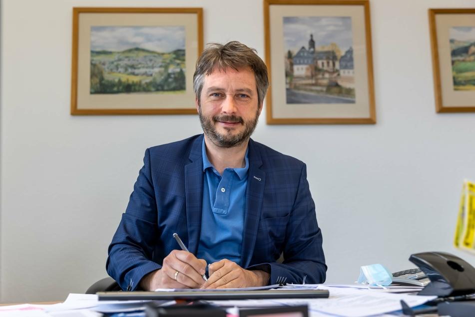 Lauters Bürgermeister Thomas Kunzmann fordert Lösungsvorschläge vom Forst.