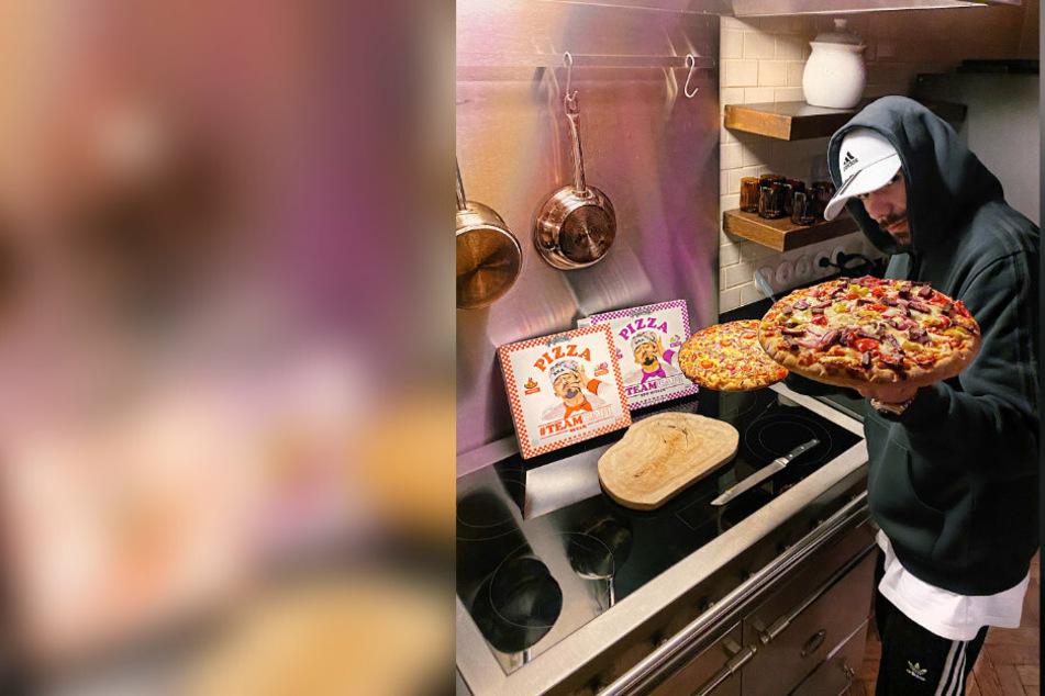 """Capital Bra erhöht Auswahl an Tiefkühl-Pizzen: Das sind die neuen Sorten der """"Gangstarella"""""""