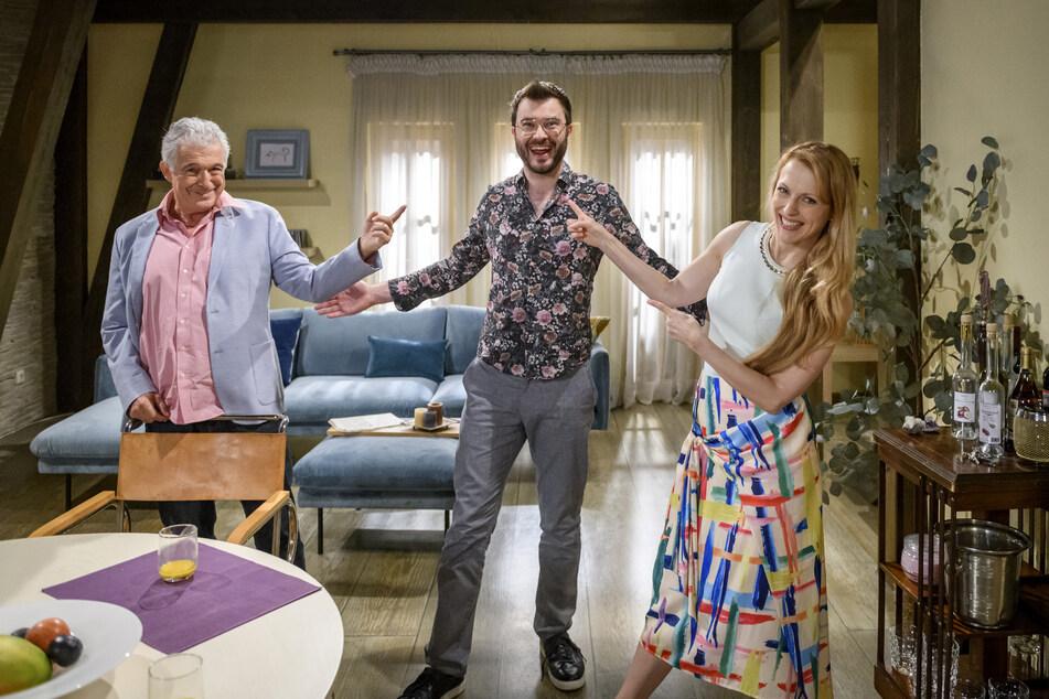 Sturm der Liebe bekommt Promi-Zuwachs. Die Schauspieler Joachim Lätsch und Natalie Alison sind begeistert.