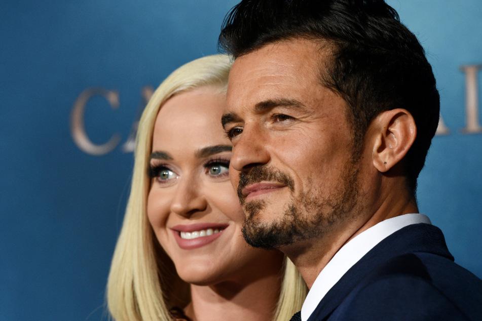 Blicken freudig in die Zukunft: Katy und ihr Verlobter Orlando Bloom (43).