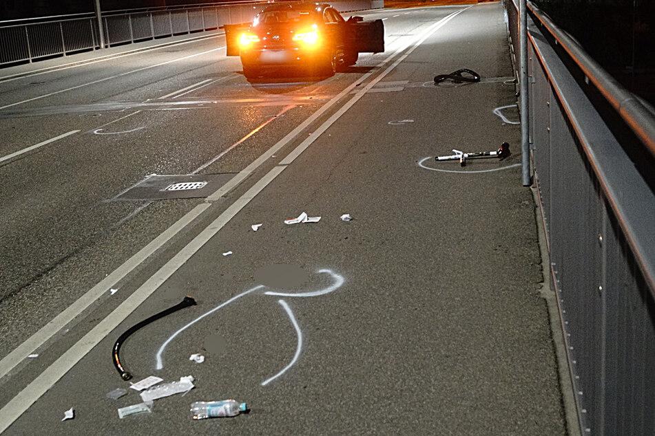 Radfahrer kracht in Auto und wird schwer verletzt