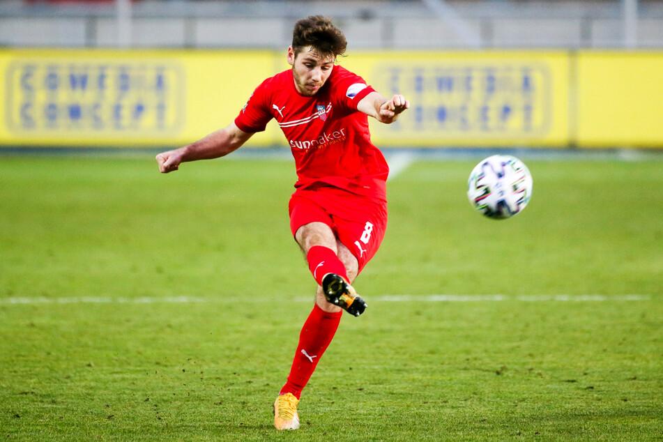 Leon Jensen (23) läuft in der kommenden Saison für den Karlsruher SC auf.