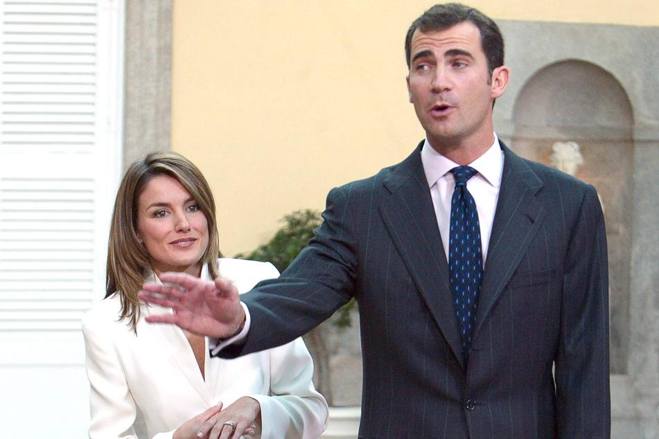 König Felipe und Letizia von Spanien.