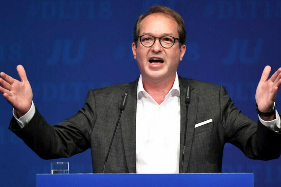 CSU-Landesgruppenchef Alexander Dobrindt (51) warnt davor, die Grünen zu wählen. (Archiv)
