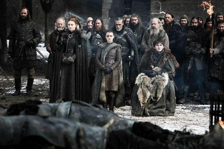 """Eine Szene aus der achten Staffel von """"Game of Thrones"""". Die Serie ist bereits zu Ende, doch die Bücher laufen noch weiter."""