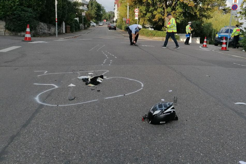 Die 56-jährige Pedelec-Fahrerin wurde so schwer verletzt, dass sie noch an der Unfallstelle verstarb.