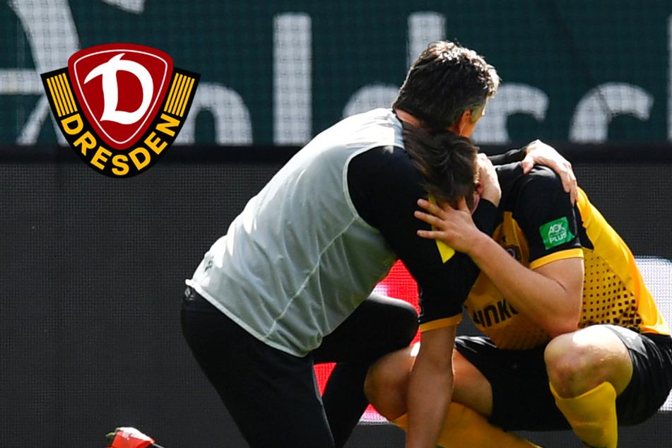 Dynamo-Emotionen pur nach 2:0-Sieg! Tim Knipping bricht in Tränen aus