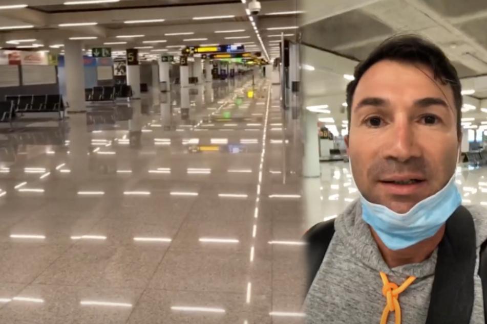 Geisterhafte Zustände! Lucas Cordalis zeigt bemerkenswertes Flug-Abenteuer