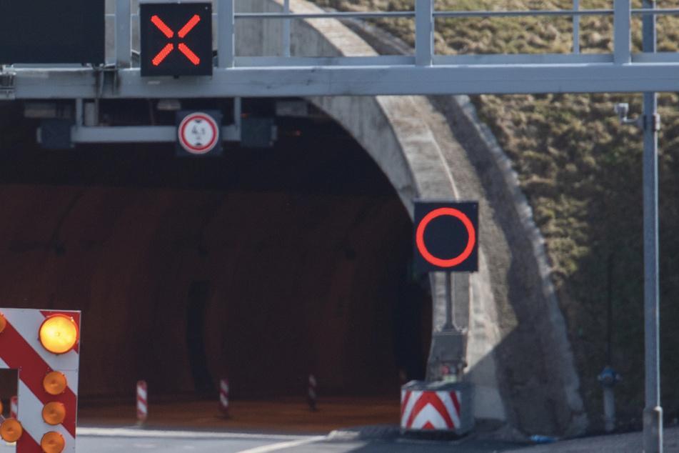 Fehlalarm in Engelbergtunnel: Lange Staus im Berufsverkehr