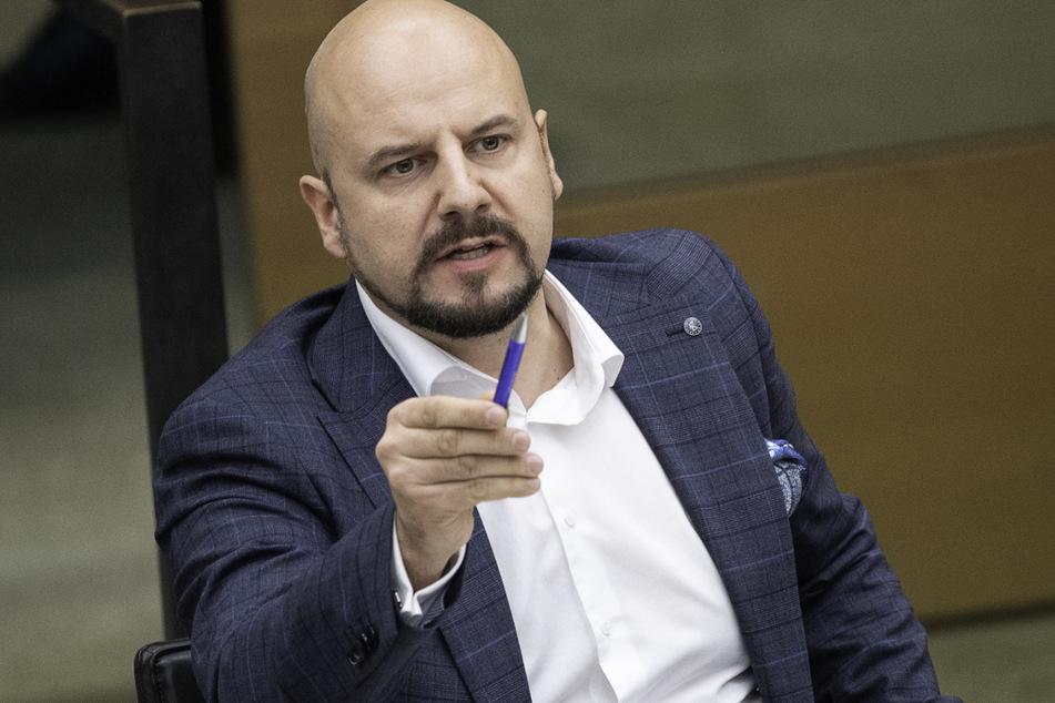 Der ehemalige AfD-Abgeordnete Stefan Räpple (40) hatte immer wieder mit Provokationen für Schlagzeilen gesorgt.