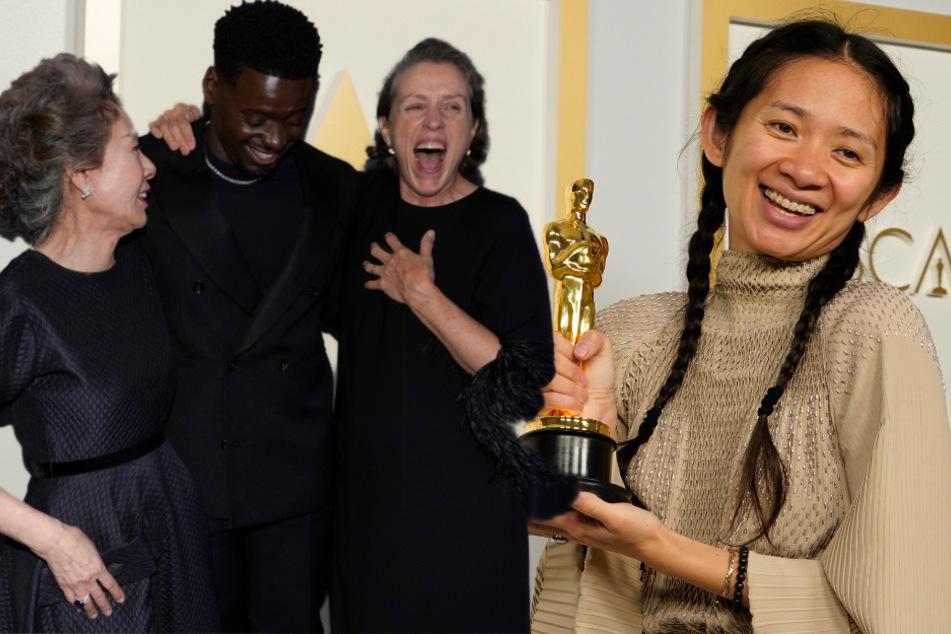 """""""Nomadland"""" räumt ab, Chloé Zhao überstrahlt alles: Das sind die Gewinner der 93. Oscars"""