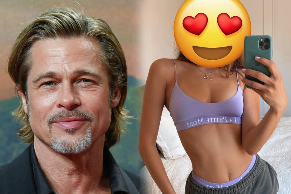 Is this German model Brad Pitt's new girlfriend?