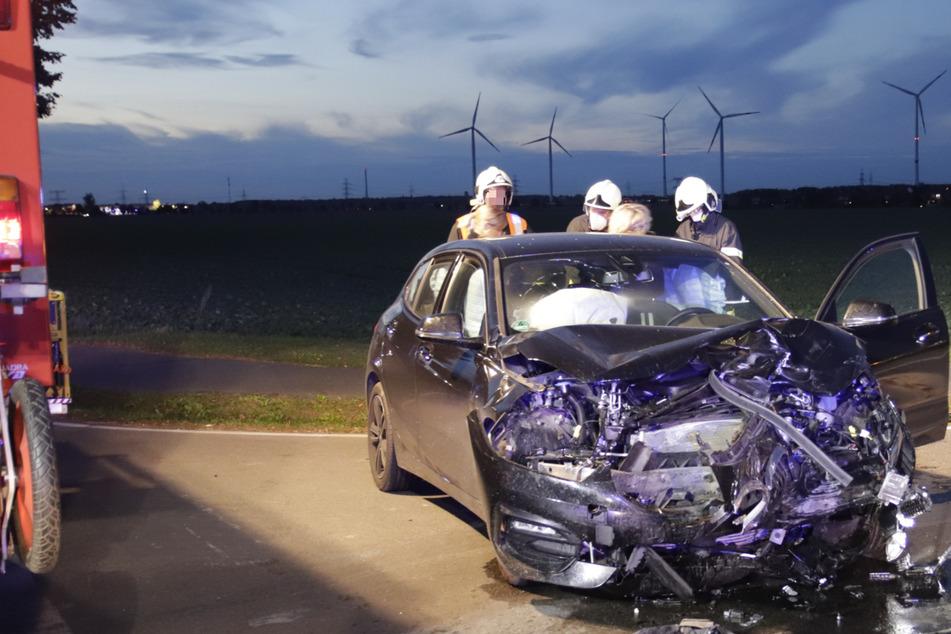 Heftiger Auto-Crash in Brandenburg: Drei Verletzte kommen ins Krankenhaus