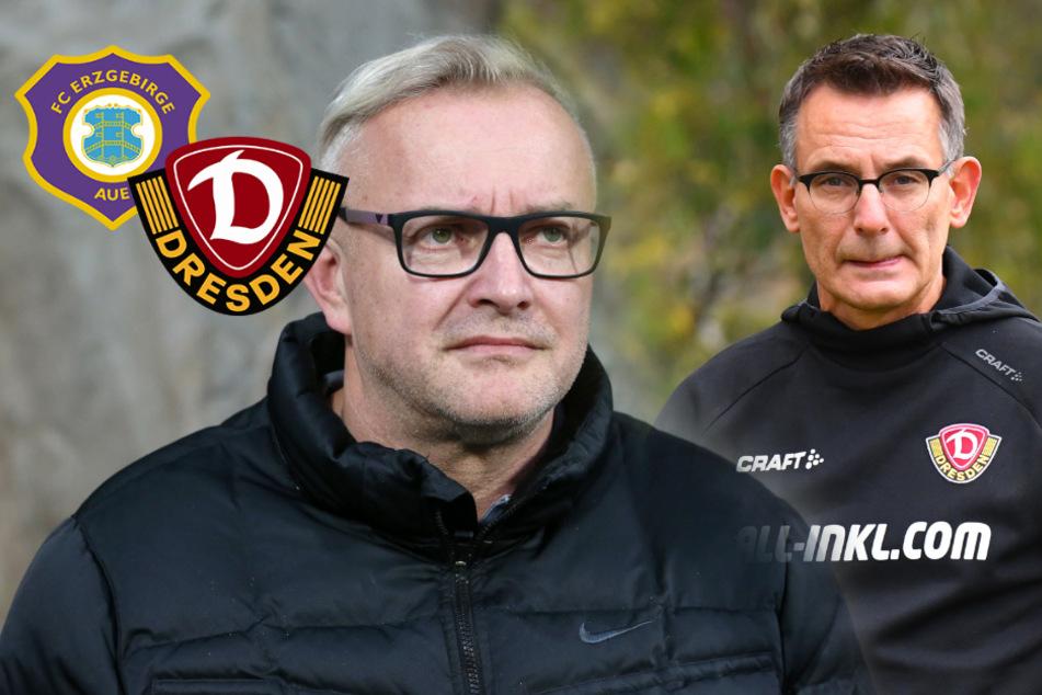 Das sagen Dynamos und Aues Geschäftsführer zur Spielpause