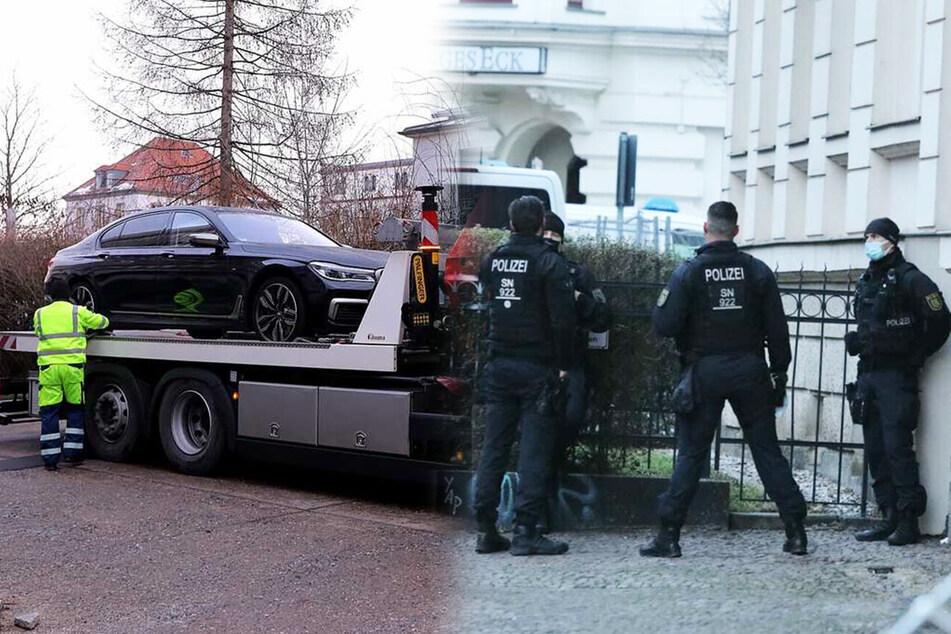 1300 Polizisten bei Drogen-Razzien in Leipzig und Dresden im Einsatz