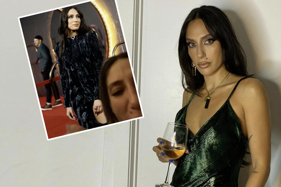 """""""Ich flippe aus"""": Influencerin schämt sich für Fashion-Fail auf rotem Teppich"""