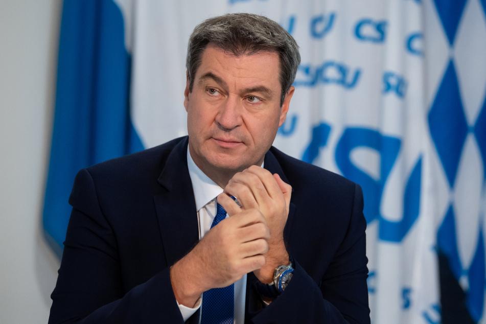 Bayerns Ministerpräsident Markus Söder (54).