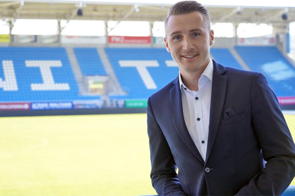 """CFC-Vermarktungsmanager Tommy Klotke verkündete am Montag, dass die Himmelblauen mit ihrer Aktion """"MeinUnterstützerticket"""" bereits 50.000 Euro eingenommen haben (Archivbild)."""