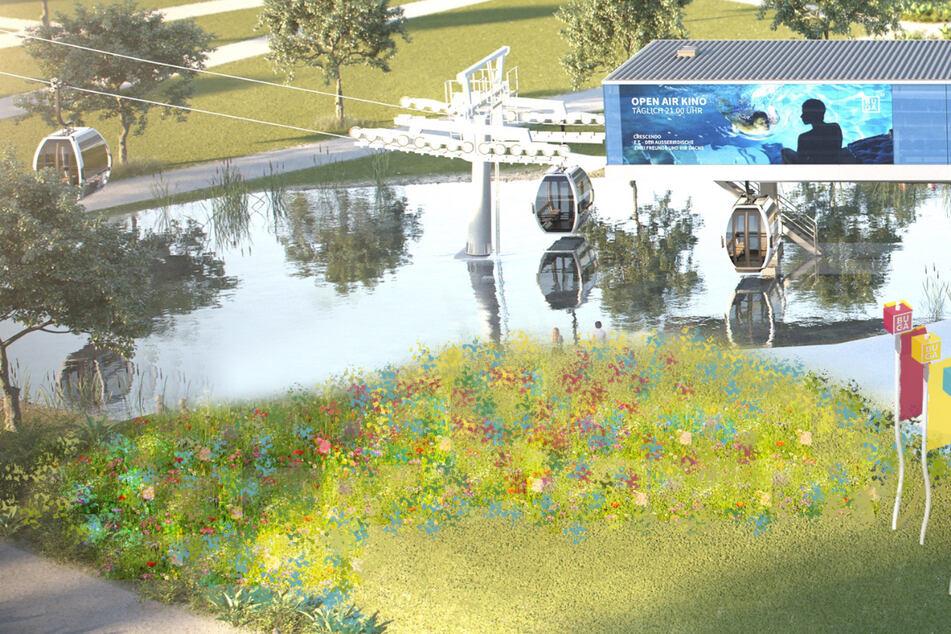 In luftiger Höhe: Hier könnt Ihr per Seilbahn die Bundesgartenschau genießen