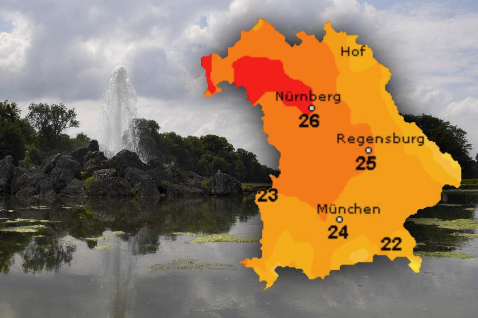 Erst Wolken, dann Sonne: So wird das Wetter in Bayern
