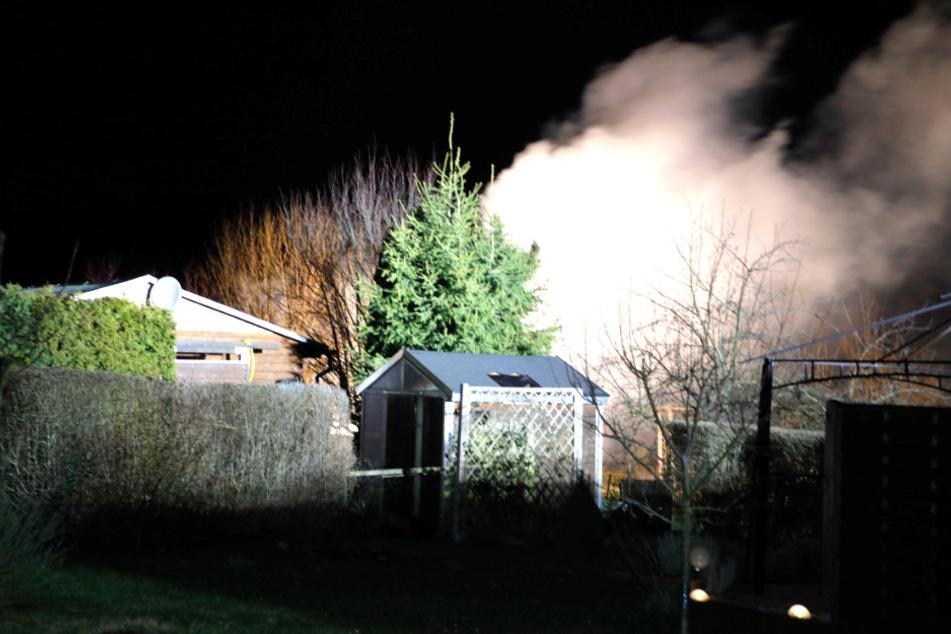 Chemnitz: Rauchwolke über Chemnitz: Was brennt da?