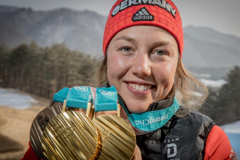 Nur wegen Olympia? Biathlon-Star Laura Dahlmeier erklärt ihr frühes Karriere-Aus