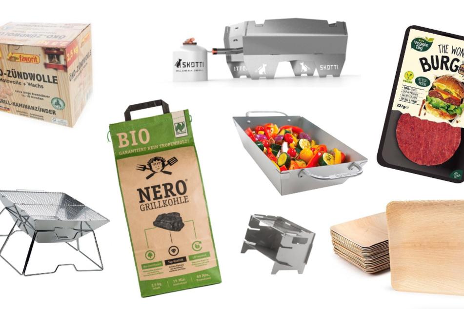 Mit diesen Produkten geht Grillen auch nachhaltig.