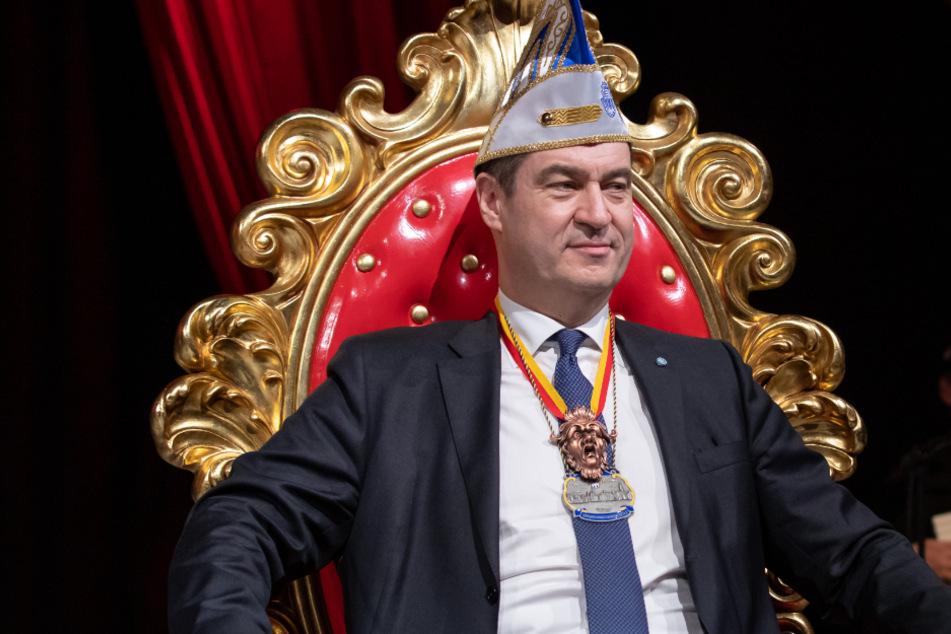 Corona macht's möglich: Markus Söder behält prestigeträchtigen Orden