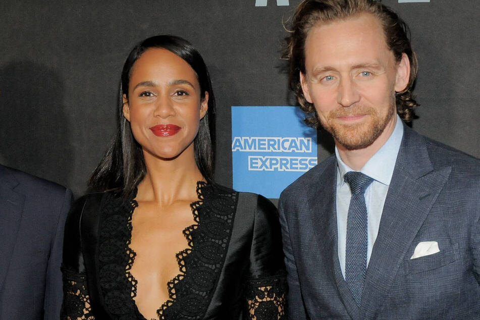 Zawe Ashton and Tom HIddleston attend the Sea Wall / A Life Broadway Opening Night at New York's Hudson Theater in 2019.