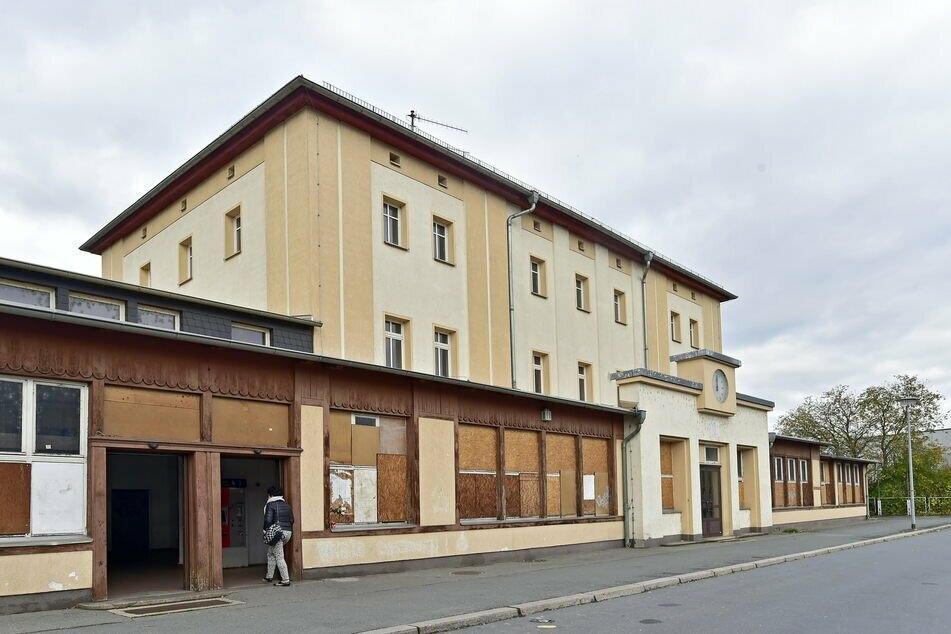 Der Bahnhof in Werdau wurde am Montag kurzzeitig gesperrt (Archivbild).