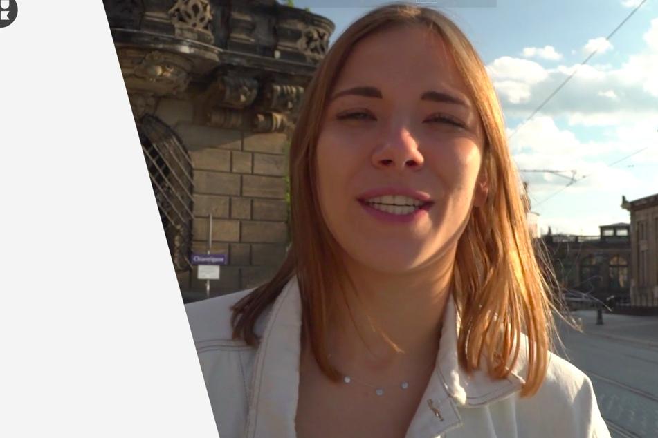 Reporterin Carolin von der Groeben (26) - die Tochter der RTL-Nachrichtensprecherin Ulrike von der Groeben (64) sprach mit der Tourette-kranken Julia.