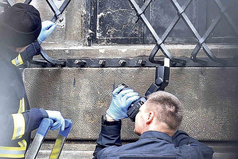 Dresden: Fiasko am Grünen Gewölbe bestätigt: Fenstergitter schon vor dem Einbruch präpariert!