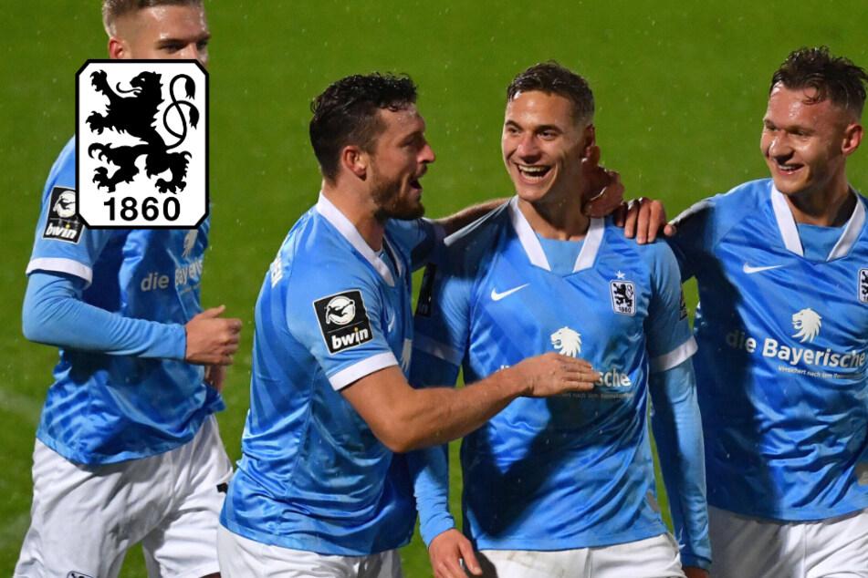 TSV 1860 wieder Tabellenführer! Löwen gewinnen Derby gegen Unterhaching