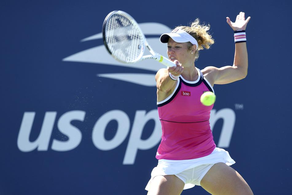 Laura Siegemund bei den US Open 2019.