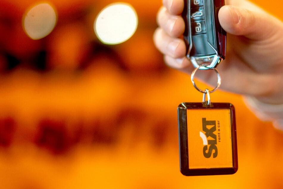 Der Schlüssel zum Erfolg? Sixt hat mit seiner Plagiats-Werbung auf jeden Fall Aufmerksamkeit erreicht. (Archiv)
