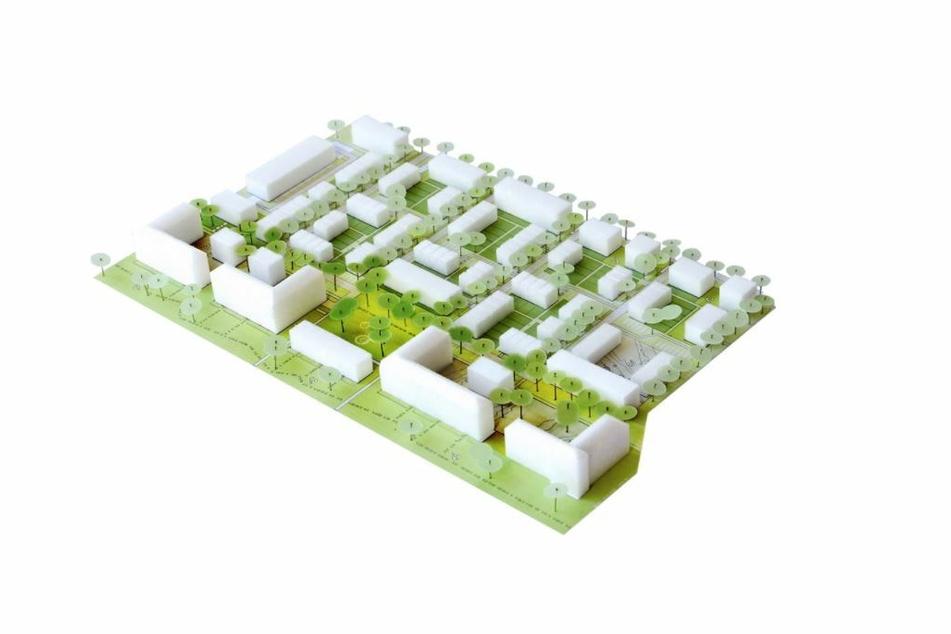In dem neuen Wohngebiet werden fünf Straßen angelegt, eine wird die O.F.-Weidling-Straße werden.