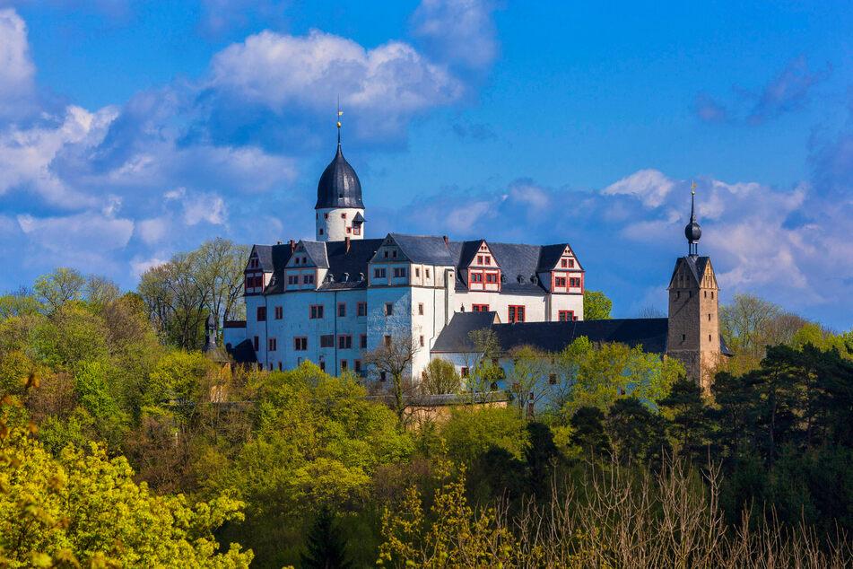 Auf Schloss Rochsburg findet am Sonntag ein kleiner Kunstmarkt statt.