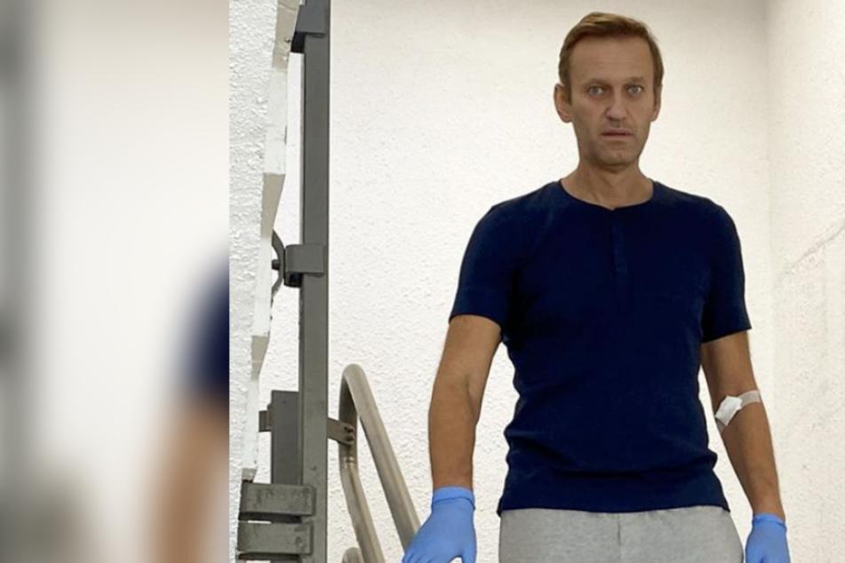 Nawalny dankt Ärzten der Charité: Er wusste nicht mehr, wie man redet