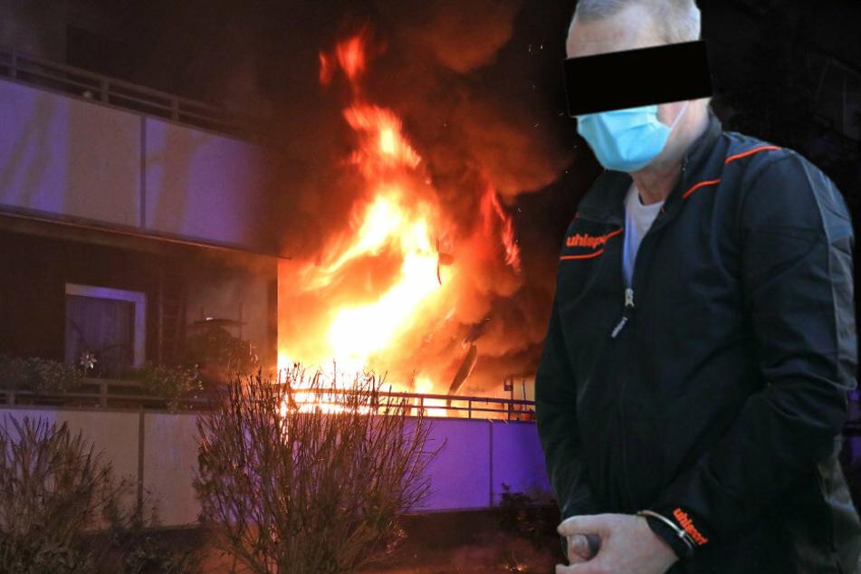 Dresden: Nach Feuer-Inferno in Dresden: Neue Details zum mutmaßlichen Täter (57)!