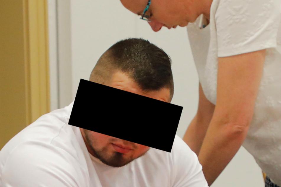 Als einziger nicht in Untersuchungshaft: Bartosz S. (24).