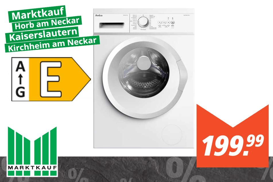 Amica Waschmaschine WA461015W für 199,99 Euro